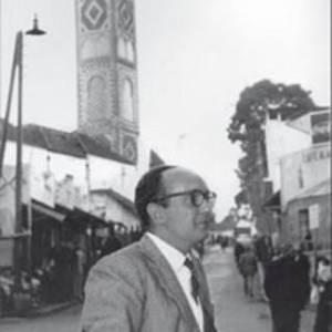 Ángel Vázquez, en el Zoco Grande.