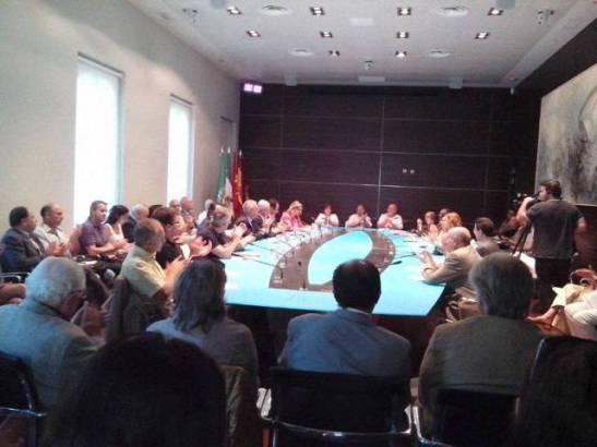 Acto de homenaje a Mohamed Chakor en Madrid.