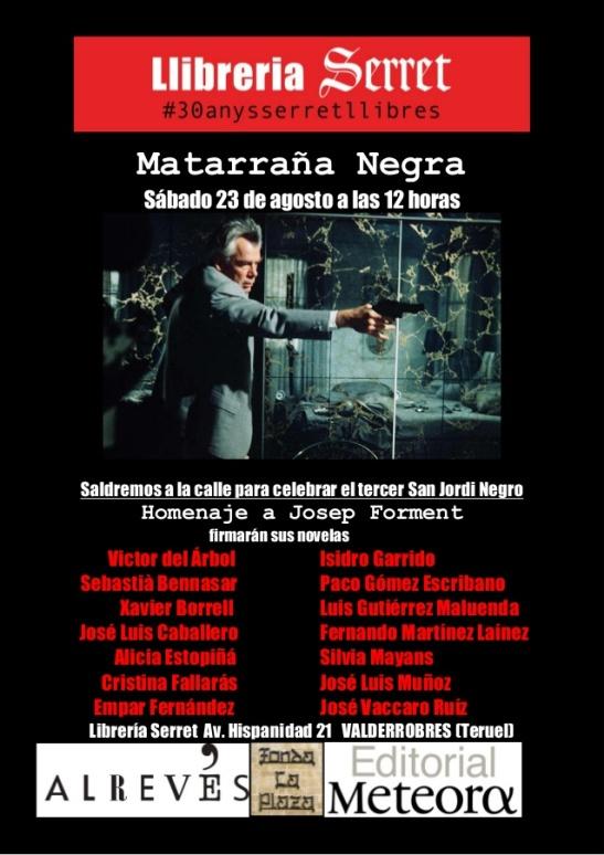 Cartel Matarra+¦a Negra 2014
