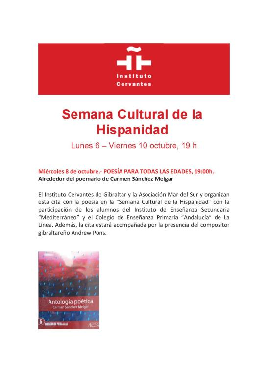 SEMANA CULTURAL DE LA HISPANIDAD 2