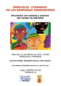 CARTEL MIERCOLES LITERARIOS barriadas2015