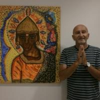 Exposición de TOSHI, el poeta de los colores. En Manilva.
